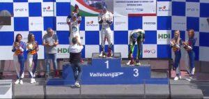 Il calabrese Simone Iaquinta sulla vetta della Carrera Cup Italia!