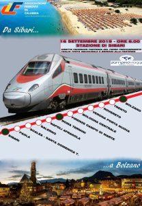 Da Sibari a Bolzano: l'Associazione Ferrovie in Calabria festeggia il nuovo Frecciargento