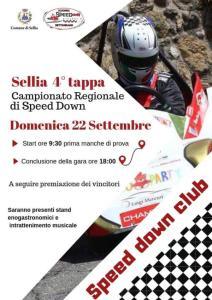 Domenica 22 Settembre a Sellia la quarta tappa del Campionato regionale di Speed Down