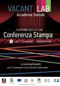 Vacantiandu 2019. Presentazione del nuovo progetto di Accademia Teatrale