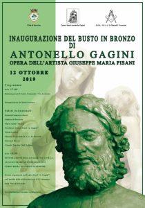 Soverato – Inaugurazione del busto in bronzo dello scultore palermitano Antonello Gagini
