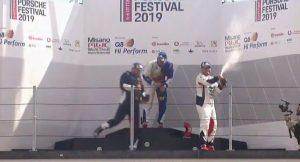 Impresa di Simone Iaquinta a Misano nel penultimo round della Carrera Cup