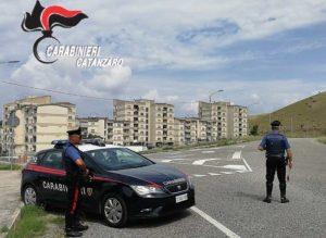 Controlli dei carabinieri nel catanzarese, cinque denunce