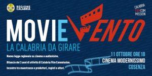 """Venerdì 11 ottobre """"MoviEvento – La Calabria da girare"""""""