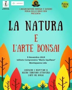 """A Montepaone Lido l'incontro """"La natura e l'arte bonsai"""""""