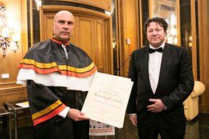 Consegnato ad Euristeo Ceraolo il XVI Premio Internazionale ISFOAallaCarrierae per il sociale