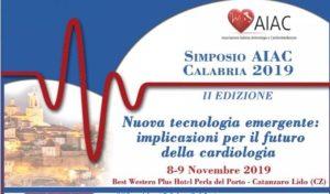 A Catanzaro Lido il Simposio Regionale AIAC (Associazione Italiana Aritmologia e Cardiostimolazione)