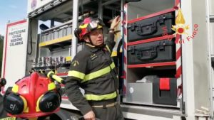 Consegnato un mezzo USAR (Urban Search and Rescue) ai Vigili del Fuoco calabresi