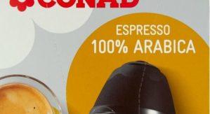 Frammento plastico nella bevanda, Conad richiama capsule compatibili con macchine Nescafe' Dolce Gusto