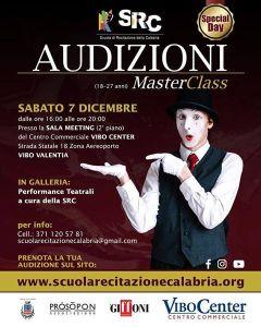 Ultima sessione di Audizioni della Scuola di Recitazione della Calabria