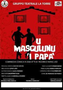 "Chiaravalle – Domenica 19 gennaio in scena ""U Masculuni 'i papà"""
