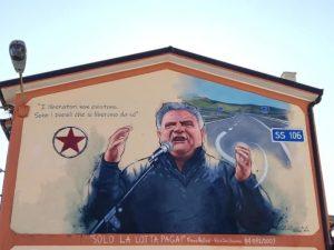 A Badolato un murales per Franco Nisticò e 34 pareti attendono di essere dipinte epicamente