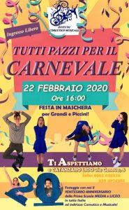 A Catanzaro Lido tutti pazzi per il Carnevale!