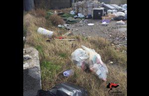 Borgia – Deposito di rifiuti non autorizzato, 56enne denunciato
