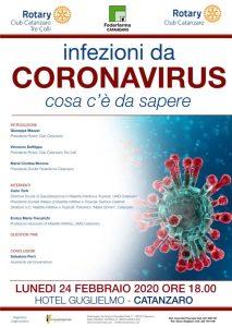 """A Catanzaro un incontro su infezioni da Coronavirus """"cosa c'è da sapere"""""""