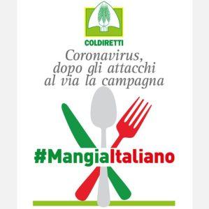 Emergenza sanitaria, dopo gli attacchi al via la campagna #Mangiaitaliano