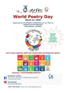 """""""Giornata Mondiale della Poesia"""", evento online al Ferrari di Chiaravalle"""