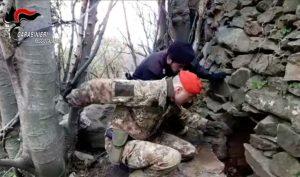 Scoperto dai carabinieri un bunker nella locride, sequestrato
