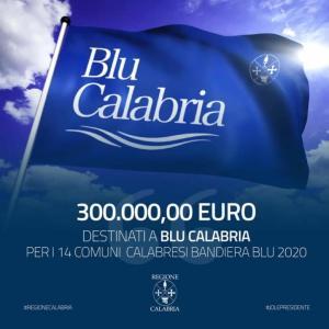 Delibera regionale, 300.000 euro per i 14 Comuni destinatari della Bandiera Blu