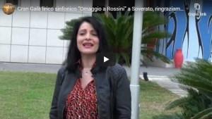 """[VIDEO] Gran Galà lirico sinfonico """"Omaggio a Rossini"""" a Soverato, ringraziamenti e la speranza di ripartire"""