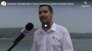 [VIDEO] Soverato – Bandiera blu e Fase 2, intervista al Sindaco Ernesto Alecci