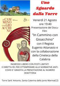 Santa Caterina dello Ionio, continuano gli incontri tematici a Torre Sant'Antonio