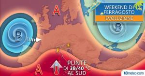 Meteo – Ferragosto rovente al Sud, temperature fino a 40 gradi!