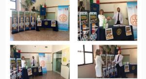 Il Rotary Club di Catanzaro dona erogatori e termoscanner anti Covid-19 a due istituti scolastici cittadini