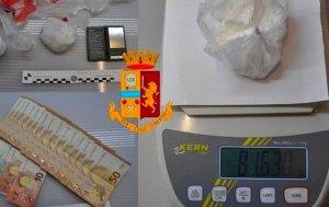 Controlli antidroga nella zona universitaria di Rende, 38enne arrestato