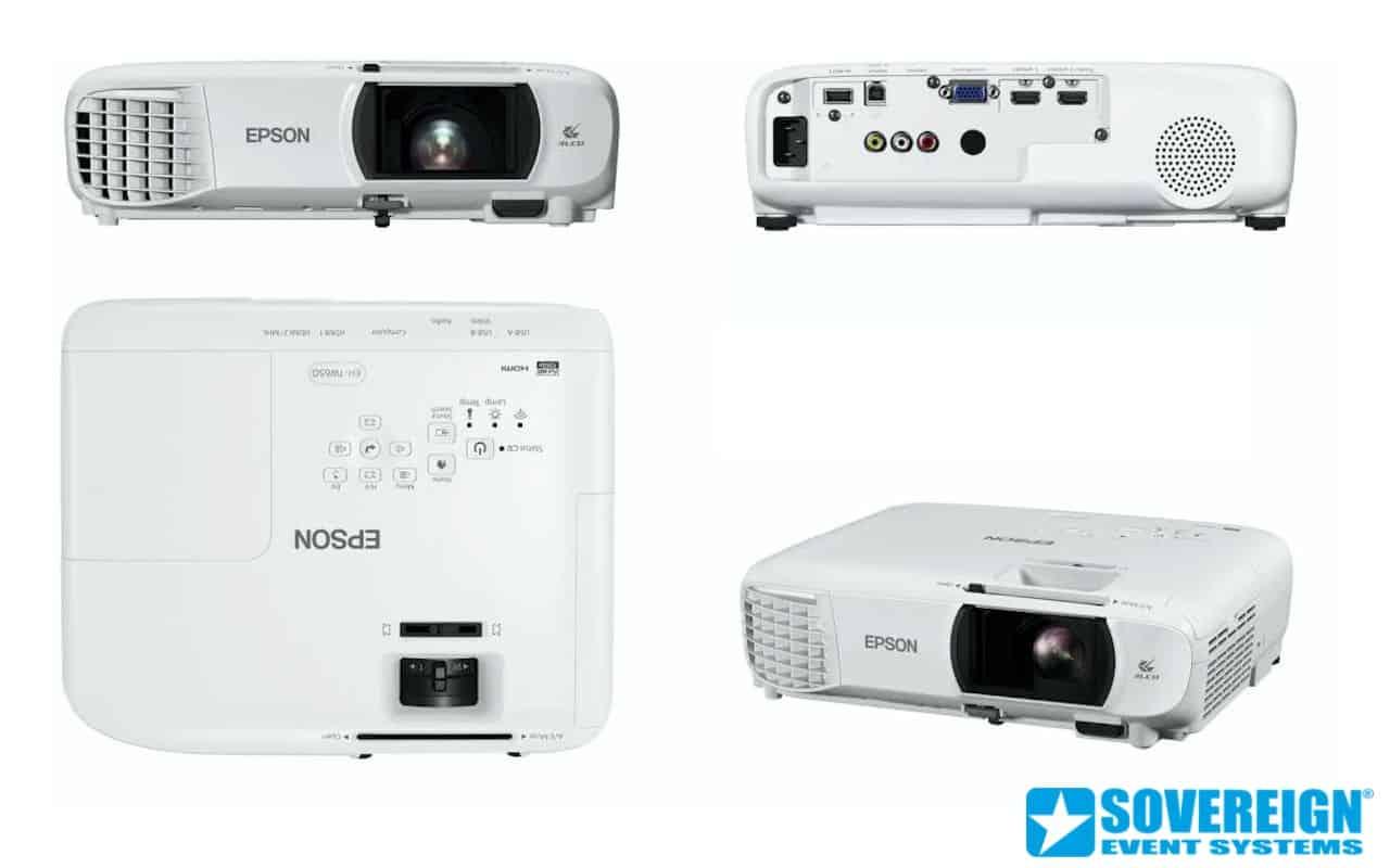 Ενοικίαση FULL HD Projector 3100 lumens Epson