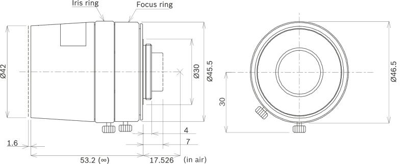 Bosch LFF-8012C-D50 Ultra Megapixel Lens