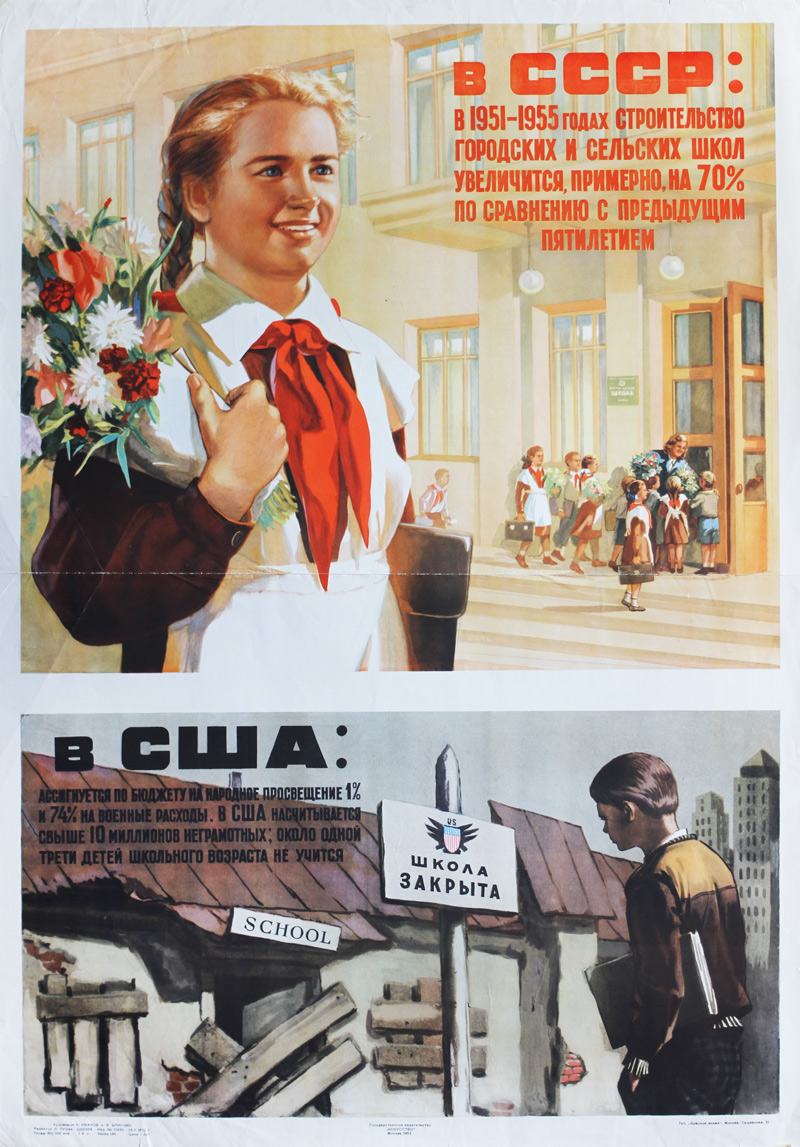 In the Soviet Union - in the United States