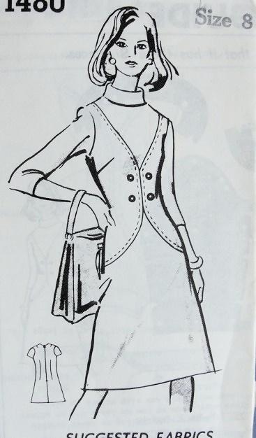 1970s A LINE DRESS PATTERN 2 STYLES
