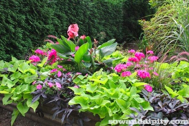 Garden Design Garden Design With Flower Container Ideas