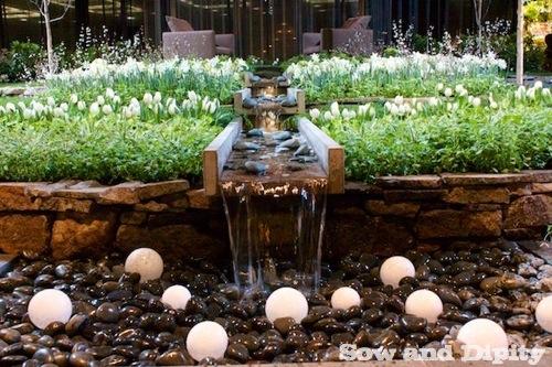 Garden water feature