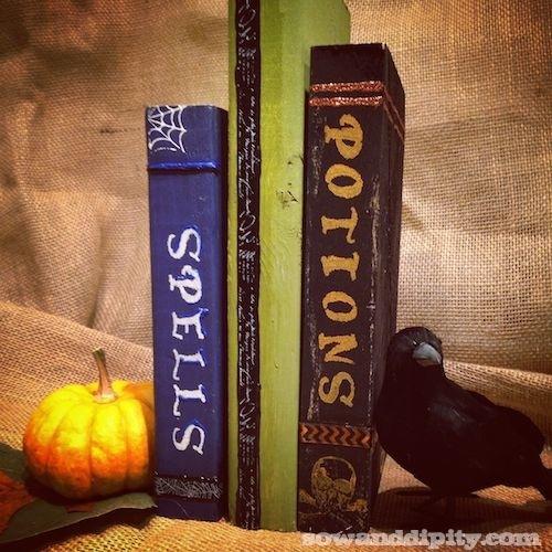 DIY Spooky Books (3)