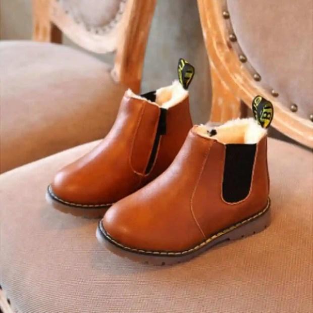 أحذية أطفال لفصل الشتاء 2018