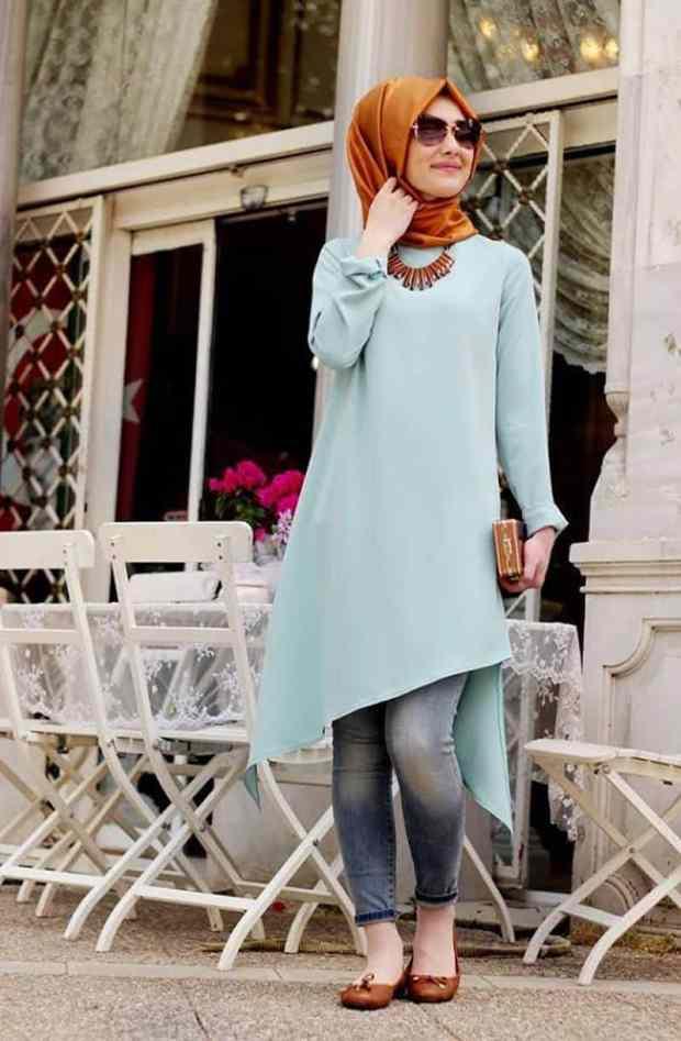صور ملابس محجبات كاجوال جميلة