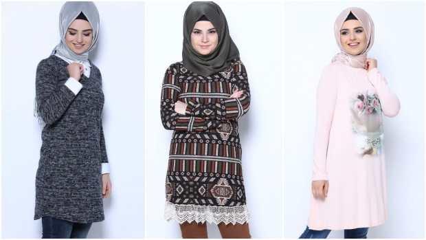 صور ملابس محجبات كاجوال متنوعة