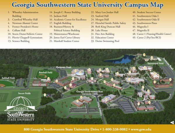 20 Uga Campus Map Main Pictures And Ideas On Meta Networks