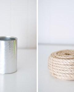Monday Mini Project: Nautical Rope Vase