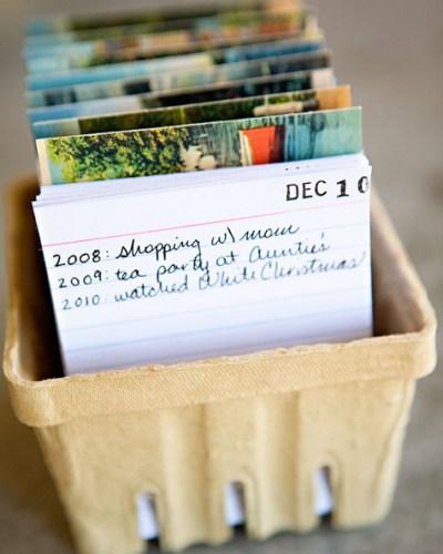 Monday Mini Project: DIY Calendar Journal