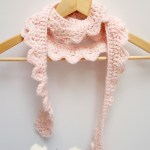 DIY Mini Project ~ Crocheted Skinny Scalloped Scarf