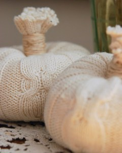 Warn 'N Toasty NO SEW Sweater Pumpkins