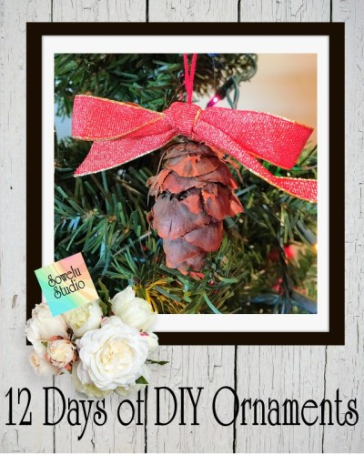 12 Days of DIY Chrismtas Ornaments-Day Six