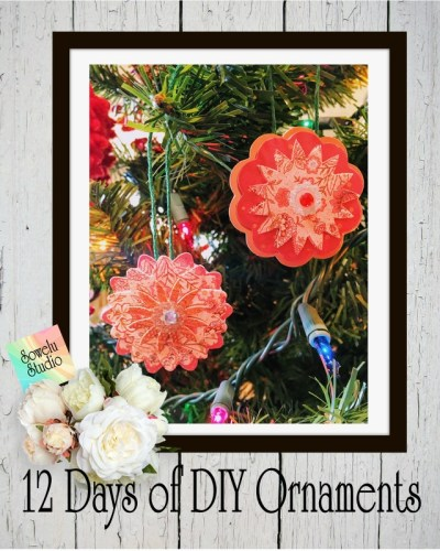 12 Days of DIY Christmas Ornaments ~ Day Seven