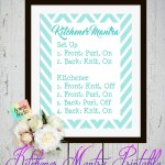 Kitchener Stitch Mantra ~ A Printable