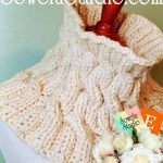 Cozy Knitted Cable Cowl~A Fabulous Free Pattern!