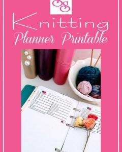 Knitting Project Planner ~ A Free Printable
