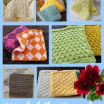 Knitted Washcloth Pattern Roundup